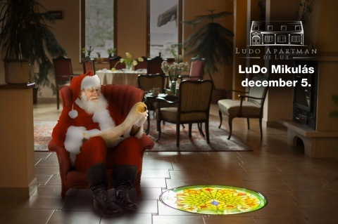 Let's wait for the Santa Klaus of LuDo Apartment & Spa together on the 5 th of December!